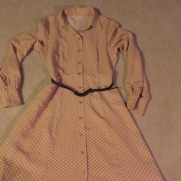 514ec1a27e Size. eva mendes for New York   Company Dresses   Skirts - Eva Mendez polka  dot dress